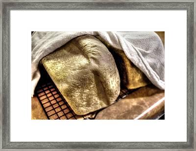 Golden Loaves Framed Print