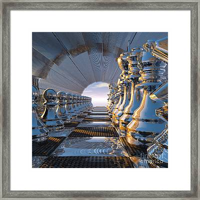 Golden Mean Framed Print by Diuno Ashlee