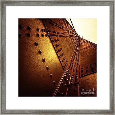 Golden Mile Framed Print