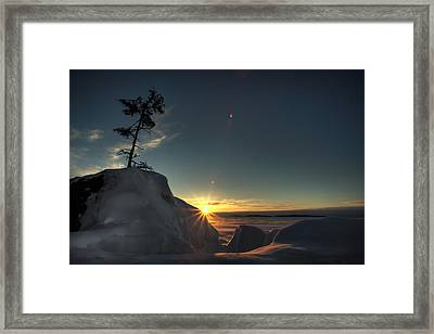 Golden Morning Breaks Framed Print by Jakub Sisak