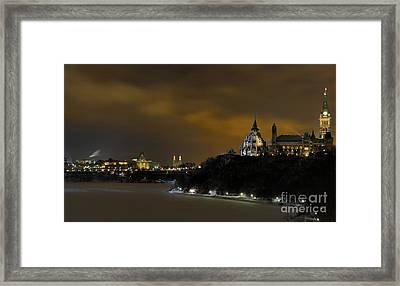 Golden Night... Framed Print by Nina Stavlund