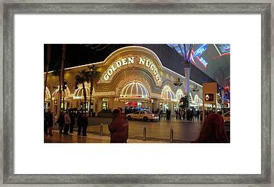 Golden Nugget Framed Print by Kay Novy
