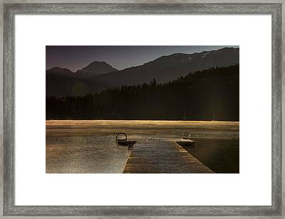 Golden Opportunity Framed Print by Aaron Bedell