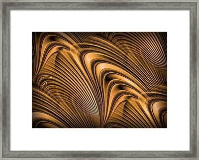 Golden Opportunity Framed Print by Kristin Elmquist