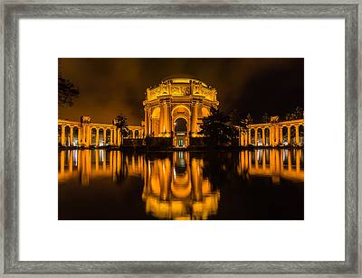 Golden Palace Framed Print
