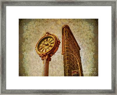Golden Partners Framed Print by Nishanth Gopinathan