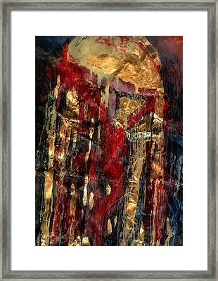 Golden Rain Framed Print by Daniel Bonnell