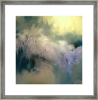 Golden Rays Framed Print