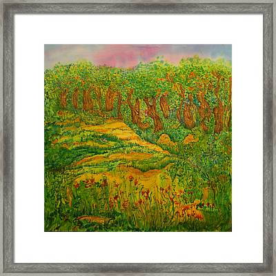 Framed Print featuring the painting Everyday-a New Beginning by Susan D Moody