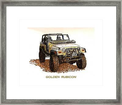 Golden Rubicon 2005 Framed Print by Jack Pumphrey