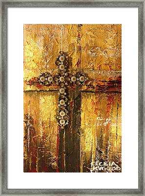Golden Rule Framed Print by Cecilia Putter