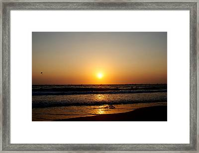 Golden Rule Of Life Framed Print by Vijinder Singh