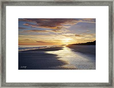 Golden Sands Framed Print by Phill Doherty
