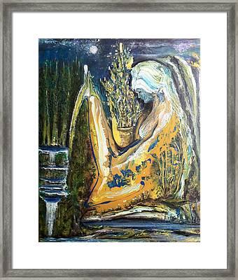 Golden Serenities Framed Print