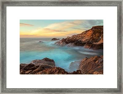 Golden Sky Framed Print by Jonathan Nguyen