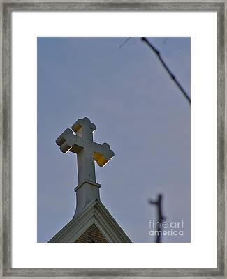 Golden Spirit Framed Print