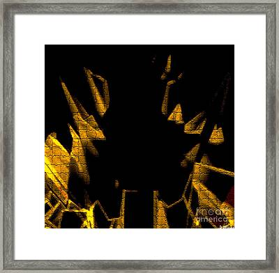 Golden Statues - Brighter Framed Print by David Winson