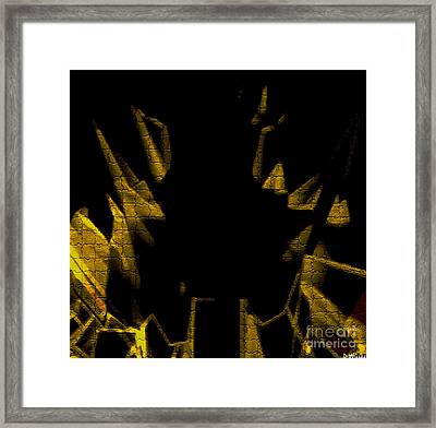 Golden Statues Framed Print by David Winson
