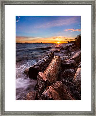 Golden Sunset Framed Print by Alexis Birkill