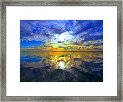 Golden Sunset Framed Print by James Granberry