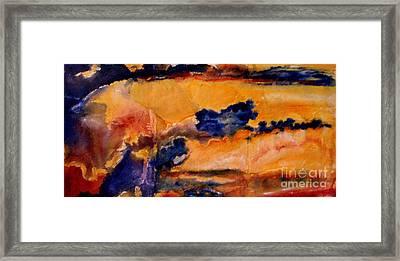 Golden Sunset Framed Print by Julia  Walsh