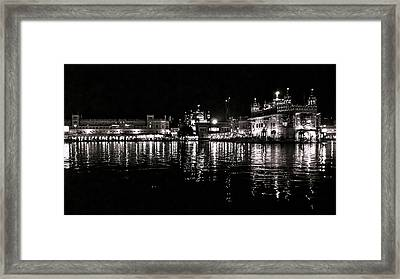 Golden Temple Framed Print by Gautam Gupta