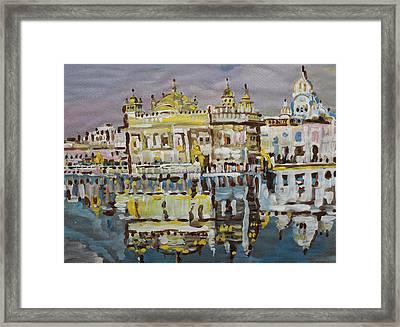 Golden Temple  Framed Print