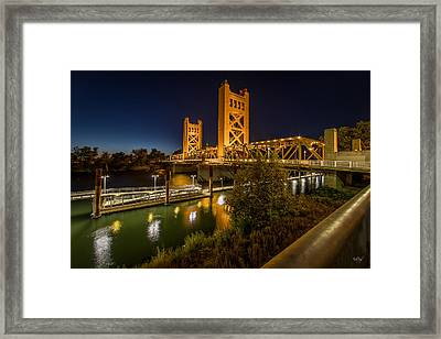 Golden Towers Framed Print by Everet Regal