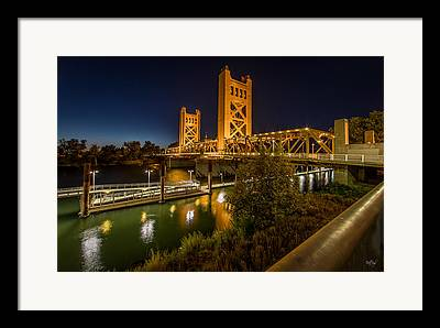 Old Sacramento Framed Prints