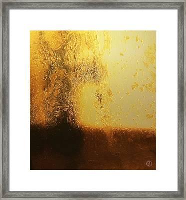 Golden Tree Framed Print by Gun Legler