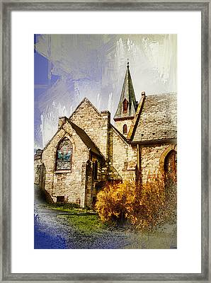 Golden Trinity Framed Print