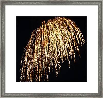 Golden Umbrella Framed Print by Aimee L Maher Photography and Art Visit ALMGallerydotcom