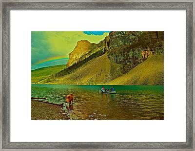 Golden Voyage Framed Print