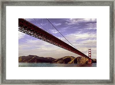 Goldengate Bridge San Francisco Framed Print