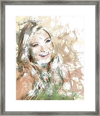 Goldie's Girl Framed Print