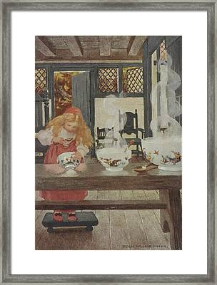 Goldilocks Framed Print by British Library