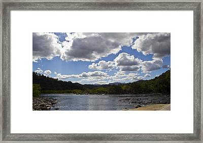 Goldsborough Valley Framed Print