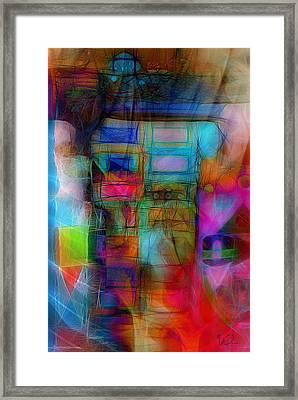Golem Framed Print
