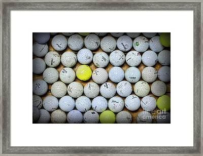Golf Balls 2 Framed Print by Paul Ward