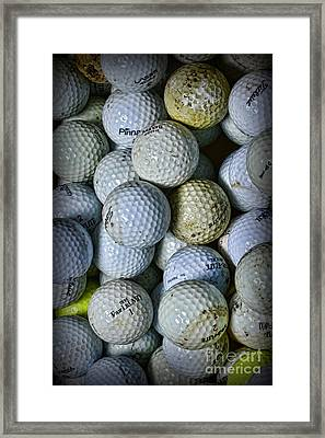 Golf Balls 3 Framed Print by Paul Ward
