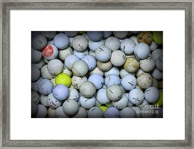 Golf Balls 4 Framed Print by Paul Ward