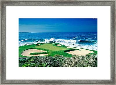Golf Course Beauty Framed Print by Marvin Blaine