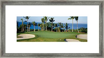 Golf Course Maui Hi Framed Print by Panoramic Images