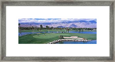 Golf Course, Palm Springs, California Framed Print by Panoramic Images