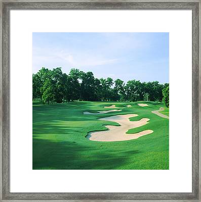 Golf Course, Shadow Hawk Golf Club Framed Print by Panoramic Images
