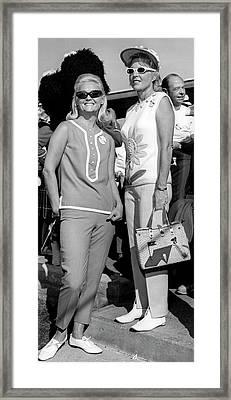 Golf Fashion Wear Framed Print by Underwood Archives