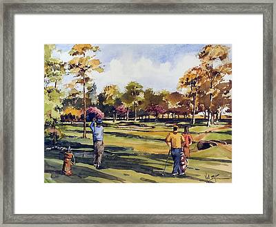 Golf In Ireland Framed Print