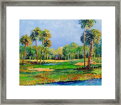 Golf In The Tropics Framed Print