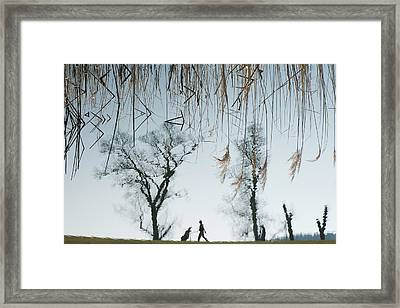 Golf Framed Print by Martina Dimunov?