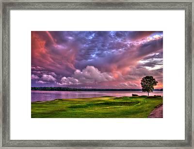 Golf The Landing At Reynolds Plantation Framed Print by Reid Callaway